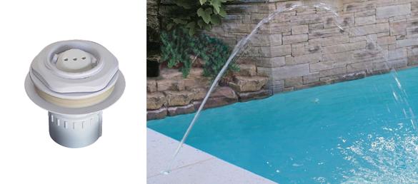 Deck jet efectos de aguaaccesorios para piscinas for Accesorios para piscinas