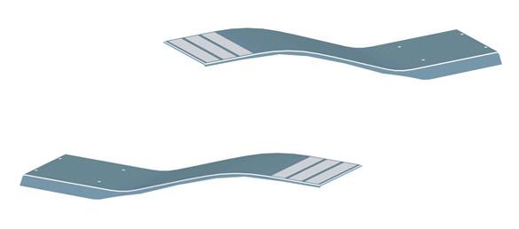 Trampol n modelo delfino de astralpool la web de los for Trampolin para piscina