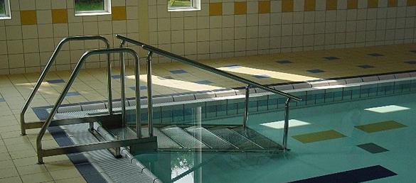 Escalera de acceso para Piscinas Variopool