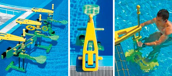 Equipos de gimnasia para piscinas unifitaccesorios para for Accesorios para piscinas