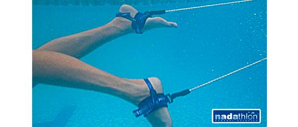 Nadathlon, nadador estático