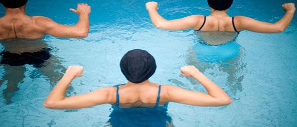 Aquagym, el ejercicio en piscinas
