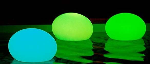 Lámpara flotante led Fatball Smart & Green