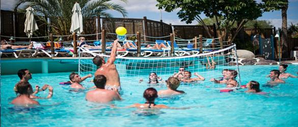 Juegos deportivos de agua