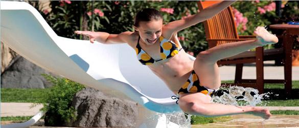 Toboganes para piscinas Interfab